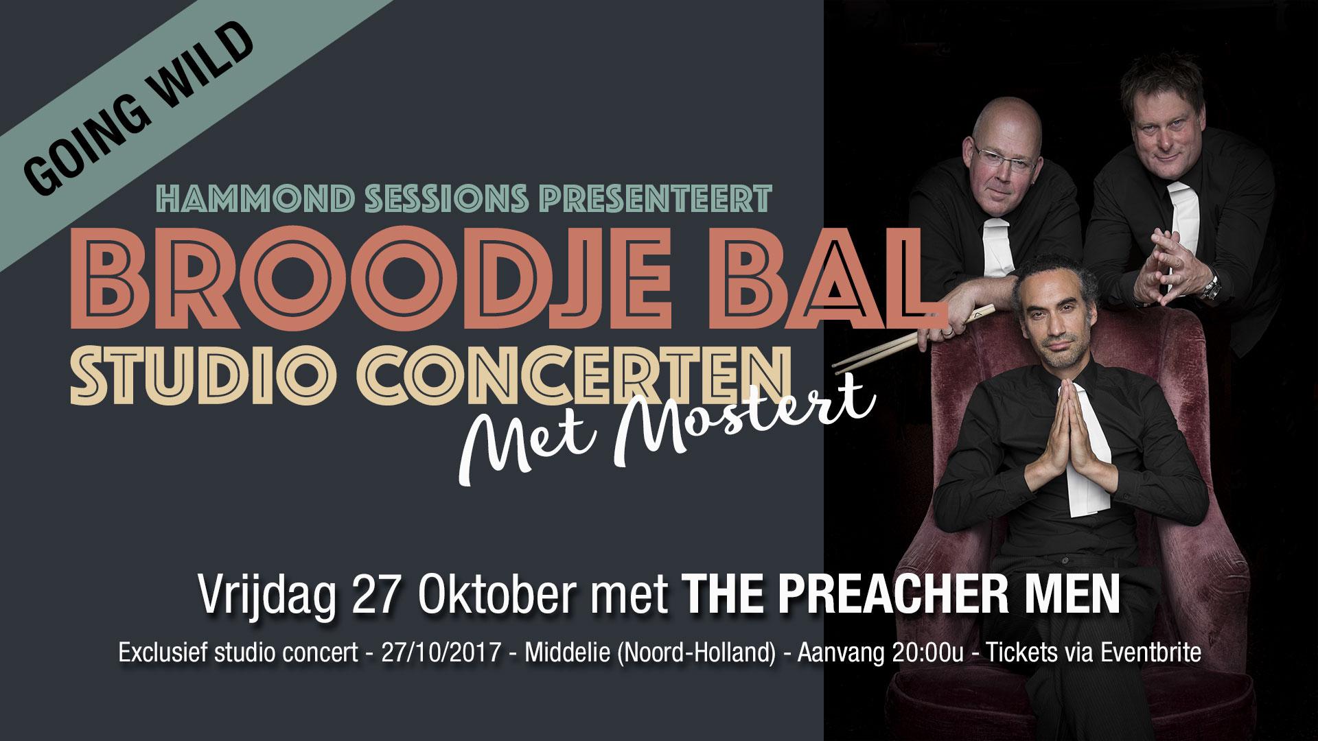 Broodje Bal concert met The Preacher Men