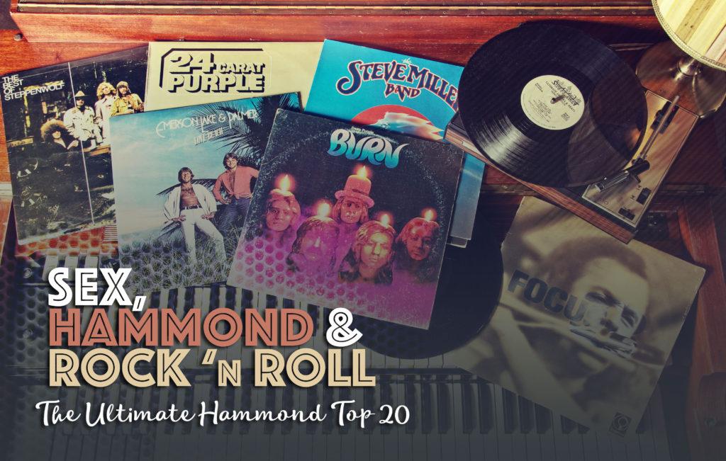 Platen van Deep Purple op een Hammond B3
