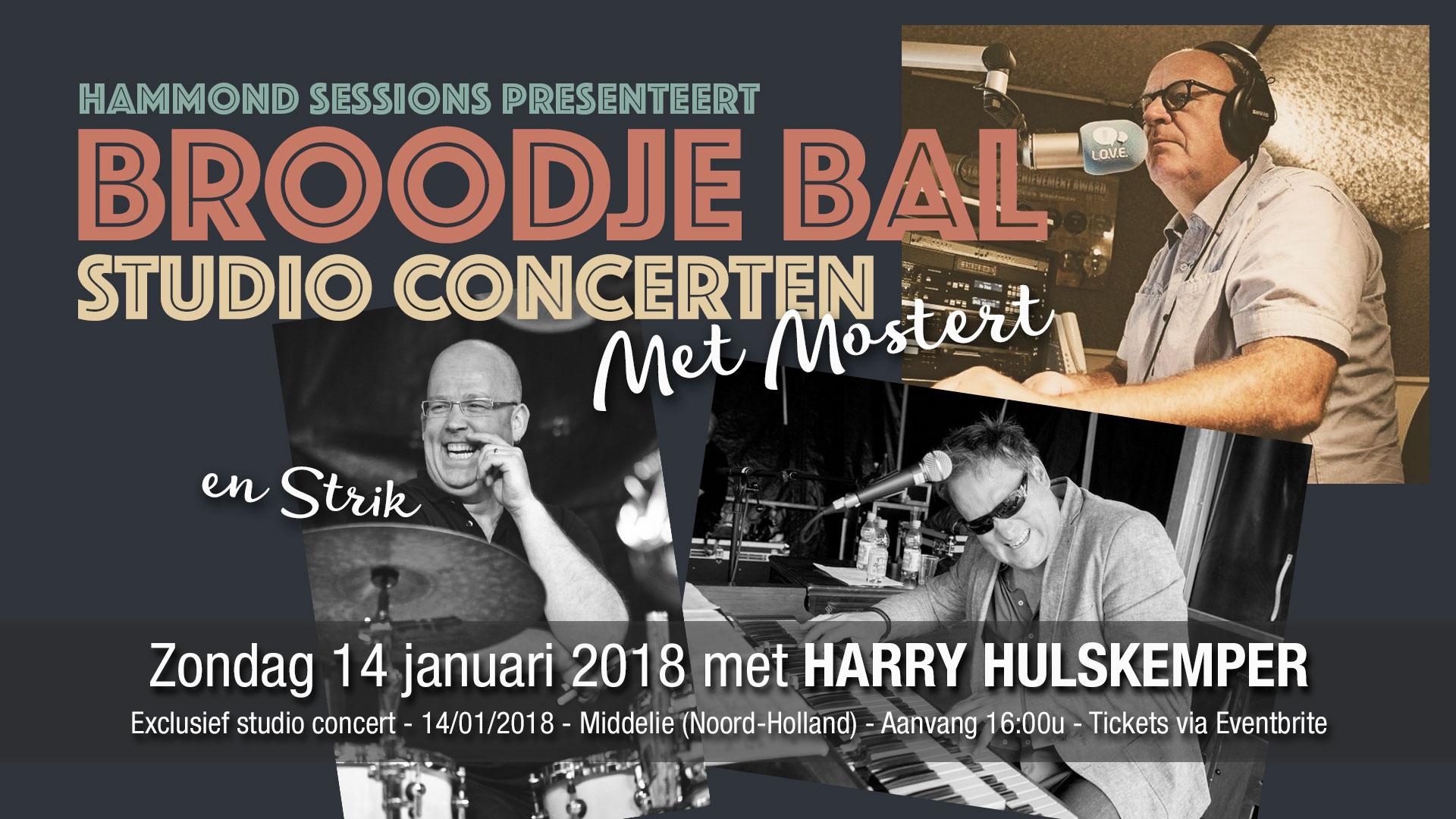 Harry Hulskemper meets Rob Mostert tijdens Broodje Bal editie 3