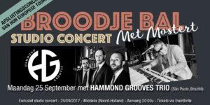 Hammond Grooves uit Sao Paulo geeft een concert in Nederland
