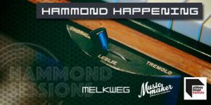 Rob Mostert tijdens hammond happening